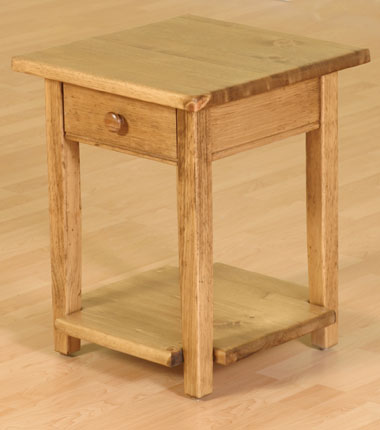 Garibaldi Small End Table Pine Maple