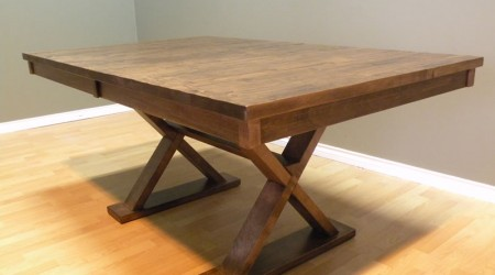 Heritage Trestle Dining Table – Photo 1